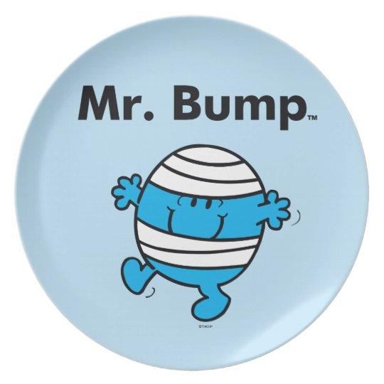 Herr Bump Herr-Men | ist ein Clutz Melaminteller