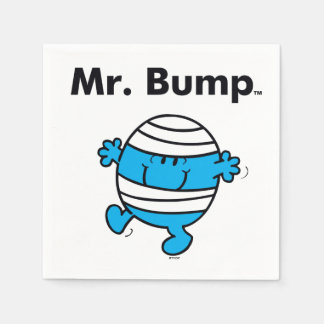 Herr Bump Herr-Men | ist ein Clutz Papierserviette