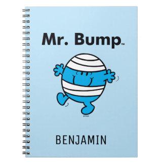 Herr Bump Herr-Men | ist ein Clutz Spiral Notizblock