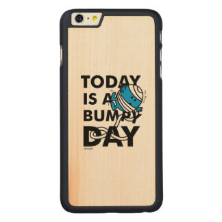 Herr Bump | ist heute ein holperiger Tag Carved® Maple iPhone 6 Plus Hülle