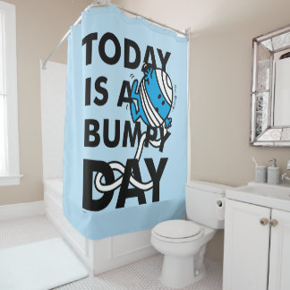 Herr Bump   ist heute ein holperiger Tag Duschvorhang