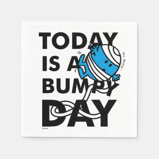 Herr Bump | ist heute ein holperiger Tag Serviette