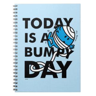 Herr Bump | ist heute ein holperiger Tag Spiral Notizblock