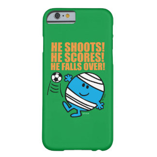 Herr Bump Playing Soccer Barely There iPhone 6 Hülle