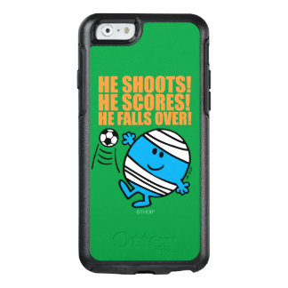 Herr Bump Playing Soccer OtterBox iPhone 6/6s Hülle
