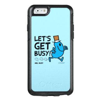 Herr Busy | ließ uns beschäftigten schwarzen Text OtterBox iPhone 6/6s Hülle