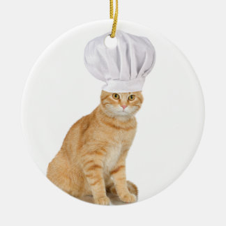 Herr Cat Chef To You Keramik Ornament