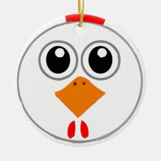 Herr Chickenz Merchandise Keramik Ornament