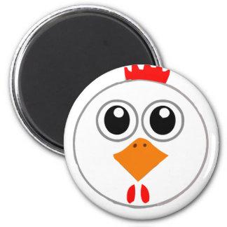 Herr Chickenz Merchandise Runder Magnet 5,1 Cm
