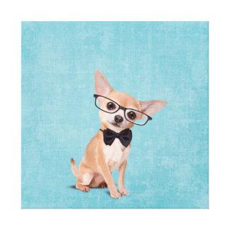 Herr Chihuahua Leinwanddruck