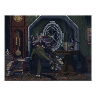 Herr Cthulhu Just Sitting Around Fotografische Drucke