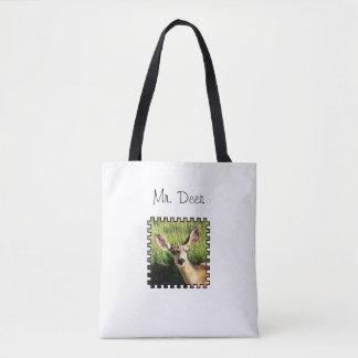 Herr Deer Tote Bag Tasche