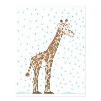 Herr Giraffe. Seattle, Washington Postkarte