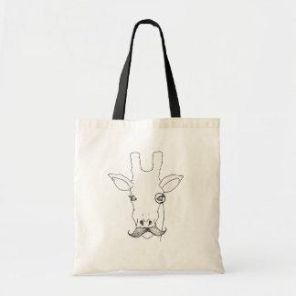 Herr Giraffe Einkaufstasche