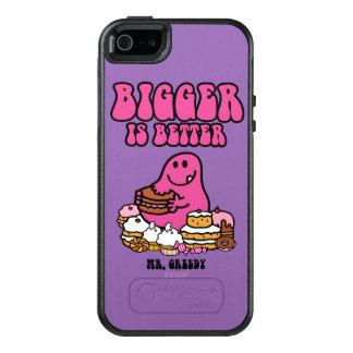 Herr Greedy |, das größer ist, ist besser OtterBox iPhone 5/5s/SE Hülle