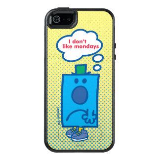 Herr Grumpy | mag ich nicht Montag-Gedanken-Blase OtterBox iPhone 5/5s/SE Hülle