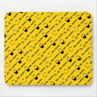 Herr Happy | alle lächelt Muster Mousepad