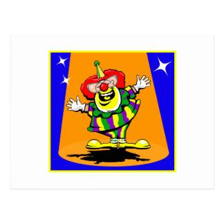 Herr Happy Clown Postkarte