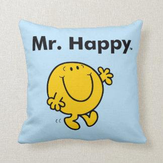 Herr Happy Is Always Happy Herr-Men | Kissen