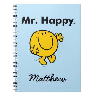 Herr Happy Is Always Happy Herr-Men | Notizblock