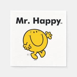 Herr Happy Is Always Happy Herr-Men | Serviette