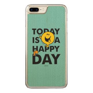 Herr Happy | ist heute ein glücklicher Tag Carved iPhone 8 Plus/7 Plus Hülle