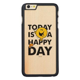 Herr Happy | ist heute ein glücklicher Tag Carved® Maple iPhone 6 Plus Hülle