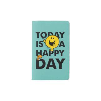 Herr Happy | ist heute ein glücklicher Tag Moleskine Taschennotizbuch