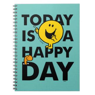 Herr Happy | ist heute ein glücklicher Tag Spiral Notizblock