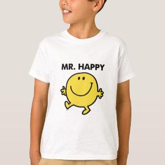 Herr Happy tanzendes u. lächelndes | T-Shirt
