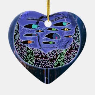 Herr Jacobs Keramik Herz-Ornament