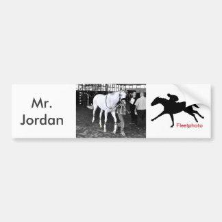 Herr Jordanien Autoaufkleber