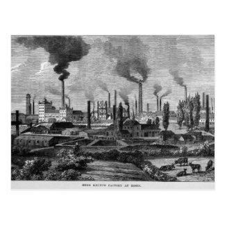 Herr Krupps Factory in Essen, Deutschland Postkarte