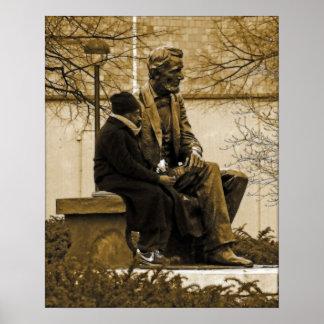 Herr Lincoln, haben wir einen neuen Präsidenten… Plakate