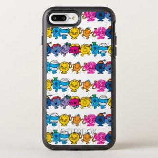 Herr Little u. kleines Fräulein Character Pattern OtterBox Symmetry iPhone 8 Plus/7 Plus Hülle