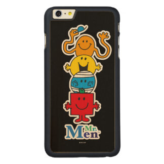 Herr Men Standing Tall Herr-Men | Carved® Maple iPhone 6 Plus Hülle