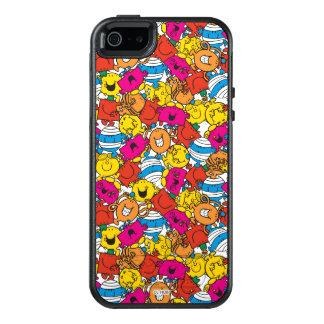 Herr Men u. kleine helle lächelnde Gesichter OtterBox iPhone 5/5s/SE Hülle