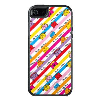 Herr Men u. kleines Regenbogen-Streifen-Muster OtterBox iPhone 5/5s/SE Hülle