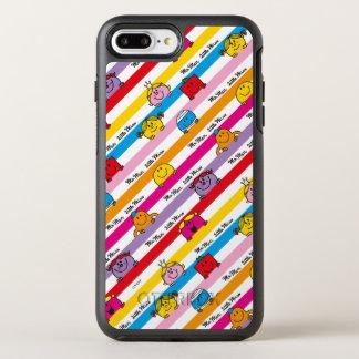 Herr Men u. kleines Regenbogen-Streifen-Muster OtterBox Symmetry iPhone 8 Plus/7 Plus Hülle