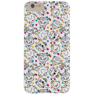 Herr Men u. kleines Regenbogen-Tupfen-Muster Barely There iPhone 6 Plus Hülle