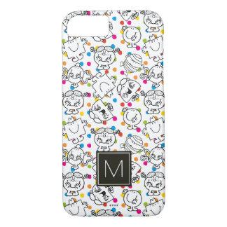 Herr Men u. kleines Regenbogen-Tupfen-Muster iPhone 8/7 Hülle