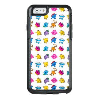 Herr Men u. kleines tanzendes Neonmuster OtterBox iPhone 6/6s Hülle