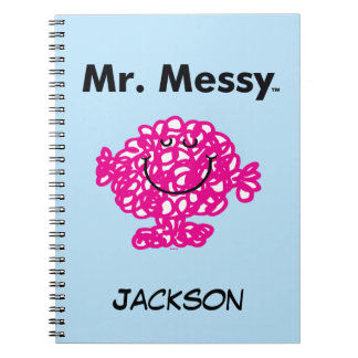 Herr Messy Is Cute Herr-Men |, aber unordentliches Spiral Notizblock