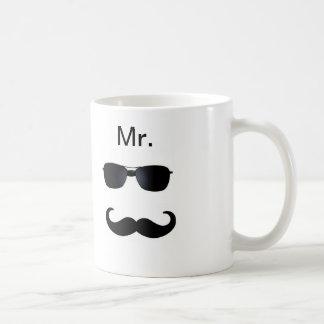 Herr Moustache Mugs Kaffeetasse