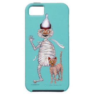 Herr Mummific und seine Katze Hülle Fürs iPhone 5