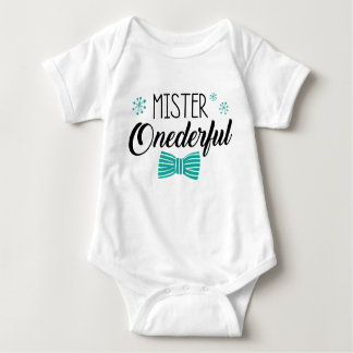 Herr Onederful Party Outfit Baby Strampler