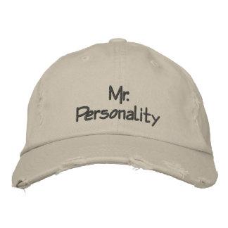 Herr Personality Bestickte Baseballkappe