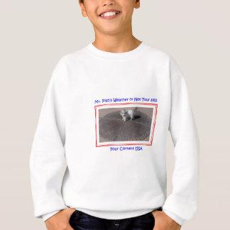 Herr Pish bei vier Ecken USA Sweatshirt