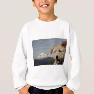 Herr Pish Visits der Mount Rainier Sweatshirt