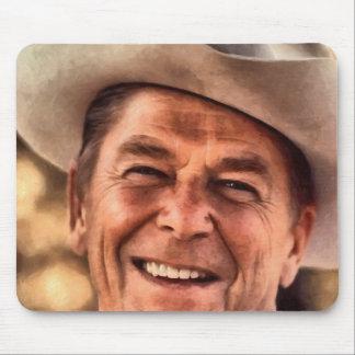 Herr Präsident Ronald Reagan Mousepad